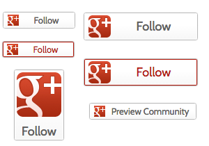 Google Plus Buttons