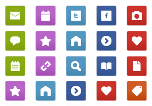 Geometric WordPress Buttons