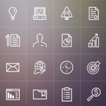 Free Icons: Business Line Icons