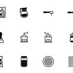 Coffee Lovers Icon Set