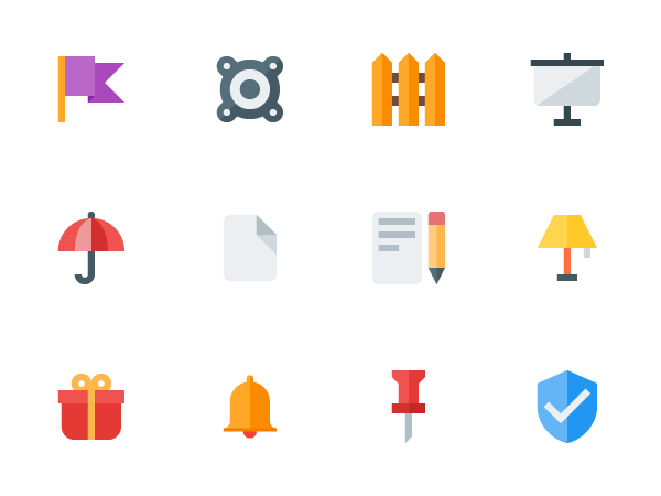 free Material Design Flat Icons