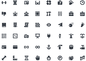 This free mini icons set