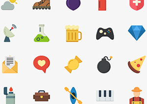 This free icon set from
