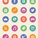 PSD Social Media Icons