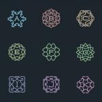 56 Vector Monograms