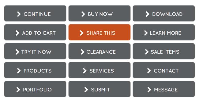 Gray and Orange WordPress Buttons