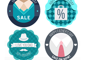 Father's Day Sale Buttons