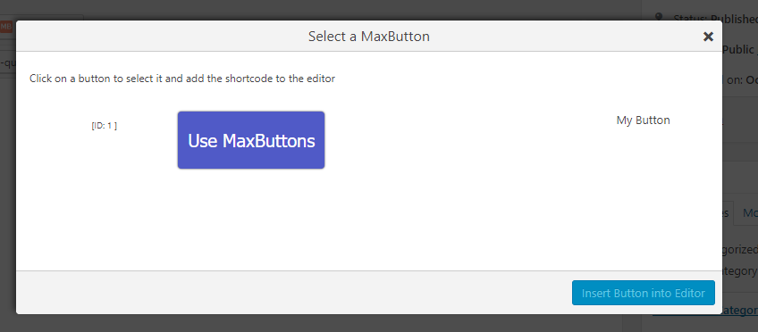 create wordpress buttons 17