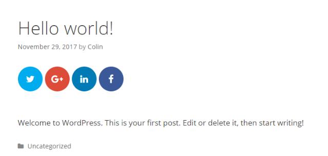wordpress share buttons 10