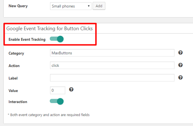how to track button clicks in WordPress