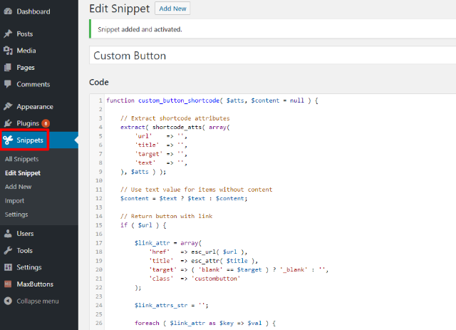 How To Create A Shortcode Button In WordPress: 2 Free Methods