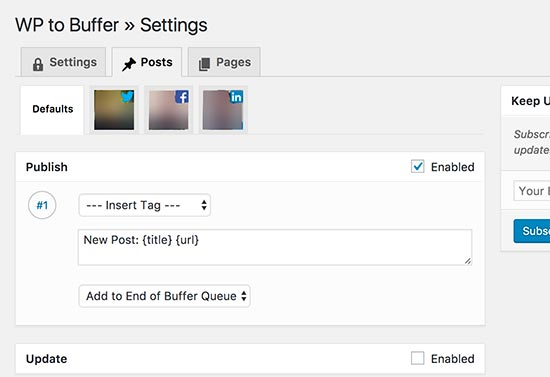 bufferpostsettings