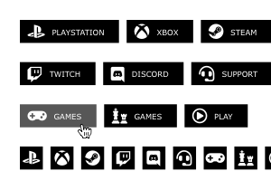 gamers buttons pack 3 300x210 preview 2