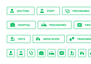 medical buttons pack 2 300x210 preview 1