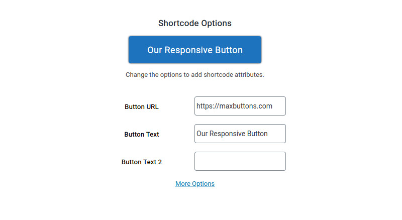 maxbuttons 8 shortcode options