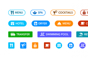 Hotel Buttons Pack